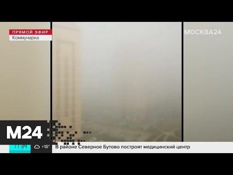 Москвичи делятся фотографиями тумана - Москва 24
