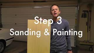 DIY Kitchen Cabinet Refresh & Paint