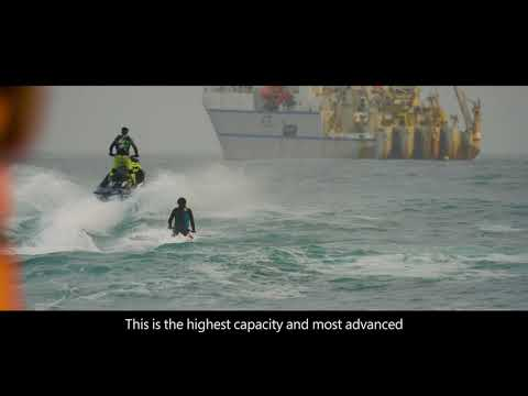 Thumbnail: The manufacturing and beach landing of Marea – the most advanced transatlantic subsea cable