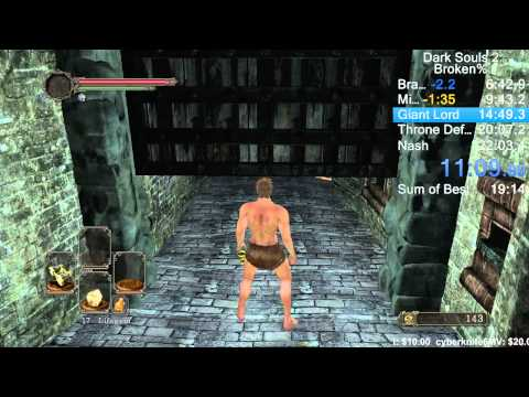 This Dark Souls 2 player can speed run through the game in 20 minutes