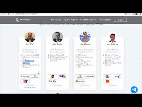 Tradove - Best ICO of 2018, Tradove has a very powerful team and very potential!