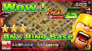 Clash of Clans⭐The Popular Army Destroy Any Ring Base 3-Star TH11⭐The Best Army 2018 !