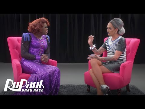 The Pit Stop w/ Raja & Bob the Drag Queen | RuPaul's Drag Race (Season 9 Ep 8) | Now on VH1