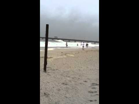 Hurricane Irene 2011 Hampton, VA Buckroe Beach