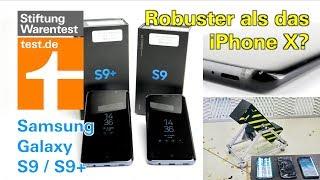 Test Samsung Galaxy S9/9+: Überraschung im Falltest - Vergleich mit S8 & iPhone X