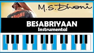 Download Hindi Video Songs - Besabriyaan Cover | M. S. Dhoni The Untold Story | Armaan Malik | Sushant S Rajput | Instrumental