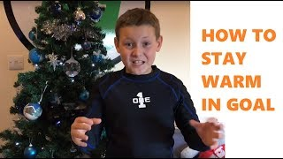 HOW TO KEEP WARM playing in Goal | One Glove Base Layer Impact Padded Top & Trousers for kids