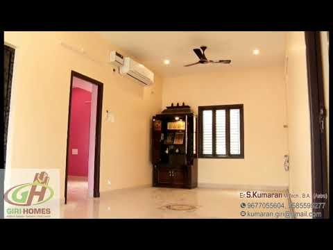 1500sq.ft North Facing 2Bhk Interior | Ground First Floor | Completed By Giri Homes