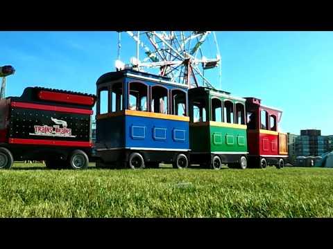 Guelph Riverside Park Multicultural Festival Midway 2016