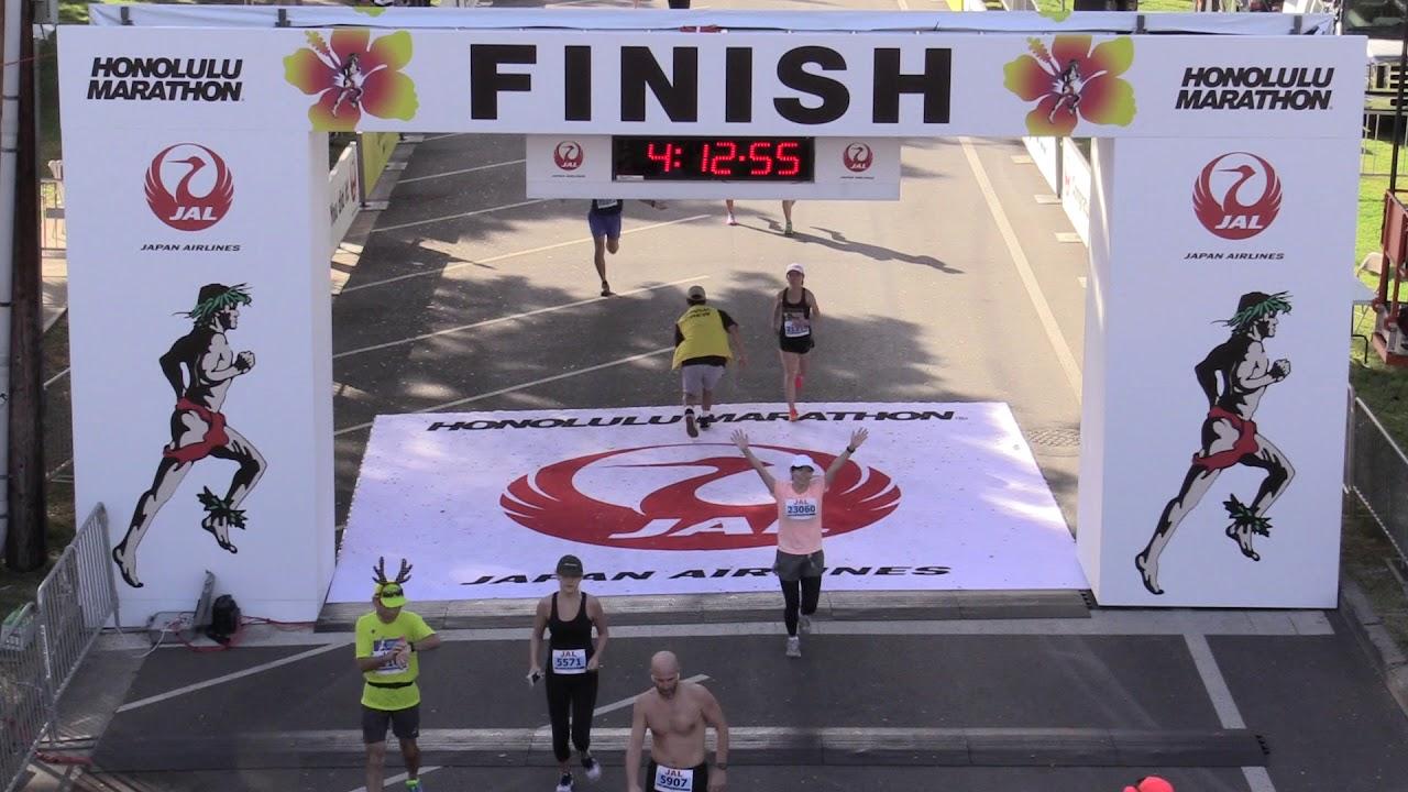 92d542ce7d131 Honolulu Marathon Finish Line Live Video Feed 04 00 00 - 05 00 00 ...