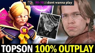 TOPSON Signature Invoker 100% Outplay on SEA Server — RIP Meepo Dota2