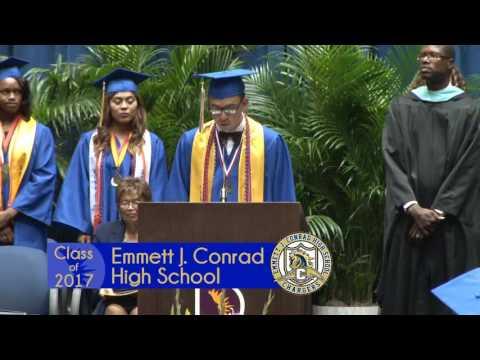 Emmett J. Conrad High School - 2017 Graduation