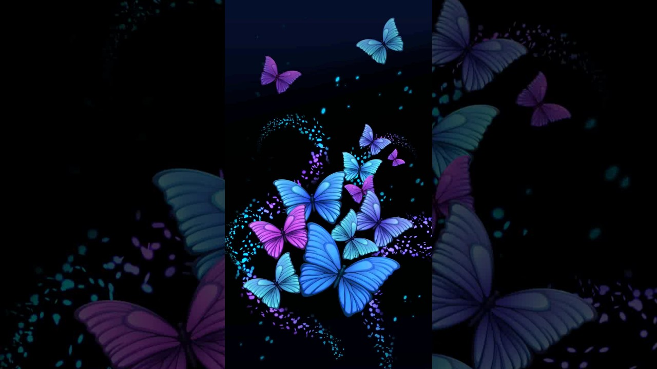 Samsung Theme Live Wallpaper Abstract Butterfly Youtube