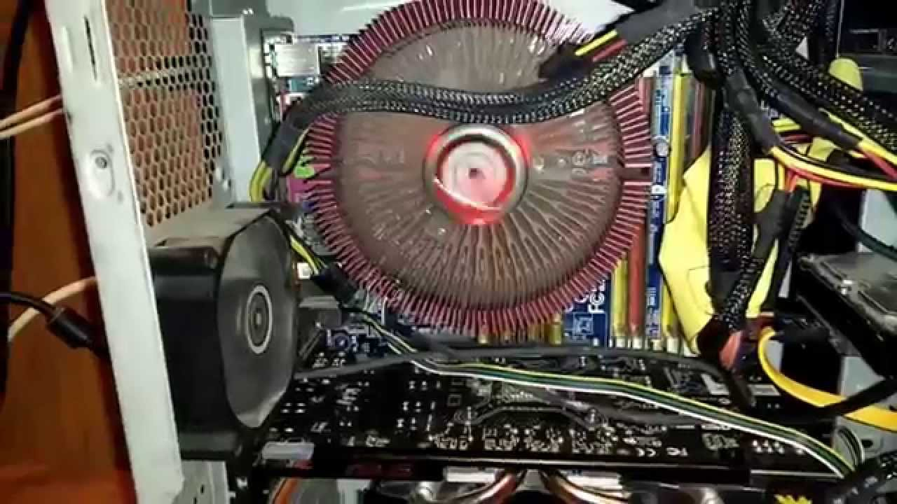 How To Install Thermaltake Ruby Orb And Remove Old Cpu Fan Socket Computer Wiring 775 Youtube