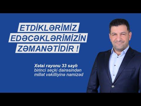 Millətvəkili Namizədi Fuad Malik Oglu Abbasov Ile Bazar Günü Canlı Yayımı 19.01.2020