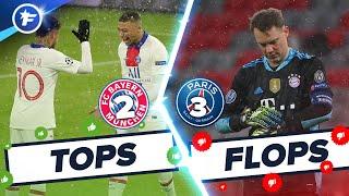 Bayern-PSG (2-3) : Neymar et Mbappé crucifient le Bayern, Neuer coule | Tops et Flops