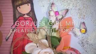 Gorjuss Girl Mini album made by Riti
