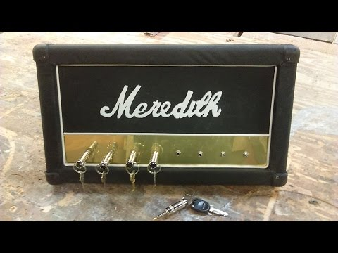 Making a Marshall amp inspired key holder and key chains