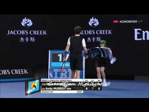 Murray vs Raonic Australian Open 2016