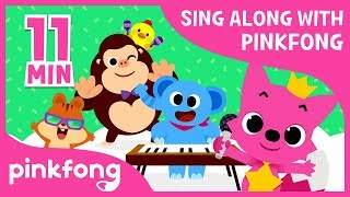 Dance with Pinkfong and more | Sing Along with Pinkfong | +Compilation | Pinkfong Songs for Children