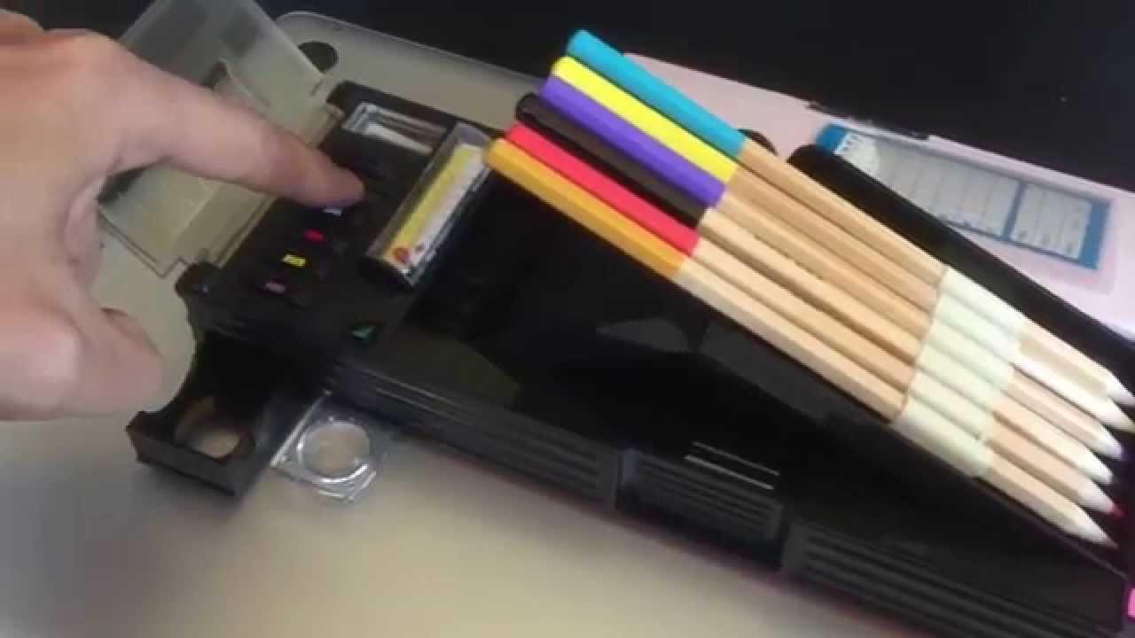 & High Tech Japanese Pencil Box - Robot-V - YouTube Aboutintivar.Com