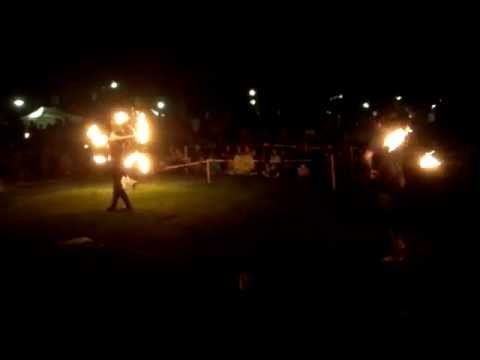 Fire Dancing at 2014 Whole Earth Festival in Davis, CA - 1