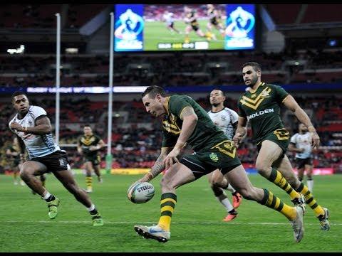 Australia V Fiji Highlights