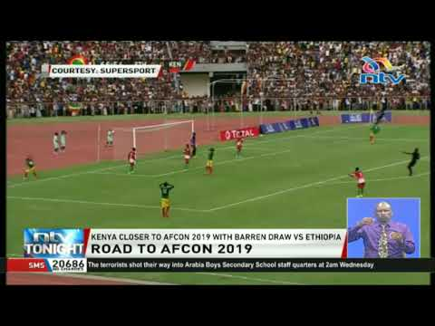 Kenya close to AFCON  2019 with Barren draw Vs Ethiopia