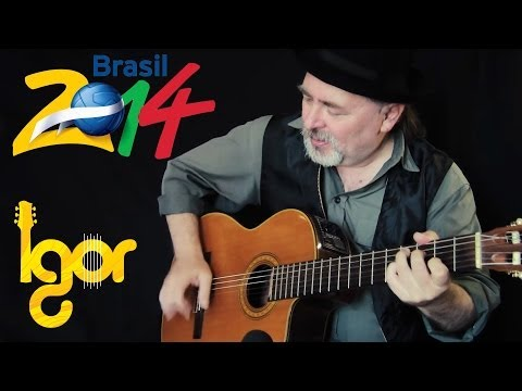Wе Arе Onе (OIe OIa) - Pitbull ft.Jennifer Lорez & Claudia Leitte (WorId cup2014) - guitar edition