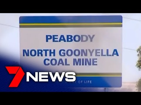 Workers At Goonyella Mine Refused To Speak After Fire | 7NEWS