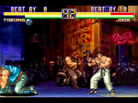 Chain Combos Art Of Fighting World Heroes Youtube