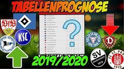 Die große TABELLENPROGNOSE zur 2 Bundesliga: Wer steigt auf, wer steigt ab, wer überrascht?