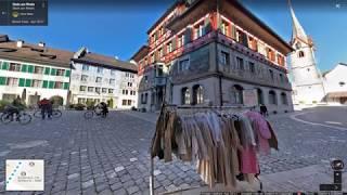 [Switzerland Map tour] The town of Stein am Rhein in the Rhine River