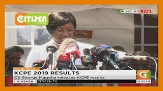 KCPE 2019: Dr. Nancy Macharia; Government to spend Ksh.580M to train 100K teachers on CBC