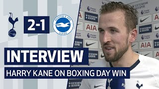 INTERVIEW | GOALSCORER HARRY KANE ON BOXING DAY VICTORY