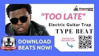 Electric Guitar Trap Beat { 10+ Minute Trap Beat Loop} ♻️ 🔥