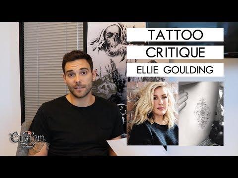 TATTOO CRITIQUE | Ellie Goulding