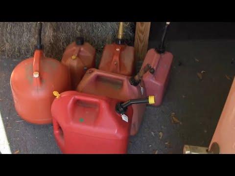 storing gasoline,octane WARNING!