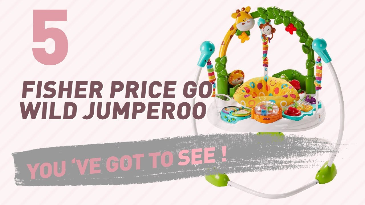 015cd3c90ad2 Fisher Price Go Wild Jumperoo    New   Popular 2017 - YouTube
