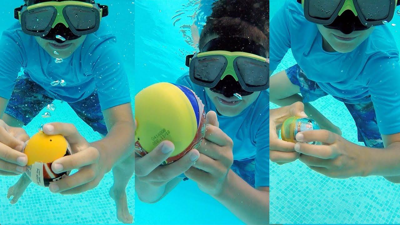 Surprises sous l 39 eau p che ouvertures dans la piscine for Swan et neo piscine