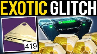 UNLIMITED EXOTIC FARM GLITCH HURRY DO THIS! - Destiny 2