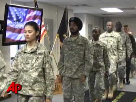 Army Gets First Sikh Enlisted Soldier In Decades
