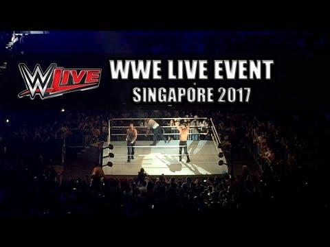 WWE Singapore 2017