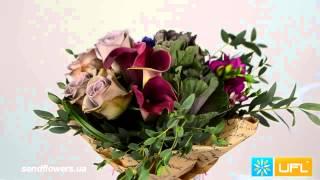 Букет Дизайнерский   доставка цветов по Украине и миру sendflowers ua(, 2015-05-31T21:59:39.000Z)