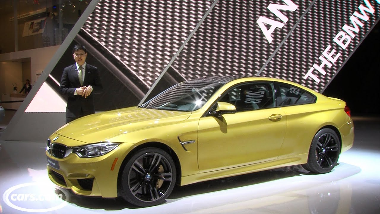 2015 bmw m3 sedan and m4 coupe 2014 detroit auto show youtube. Black Bedroom Furniture Sets. Home Design Ideas