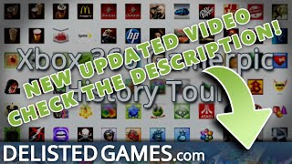 Xbox 360 Gamerpic History Tour (Delisted Games Hands On)