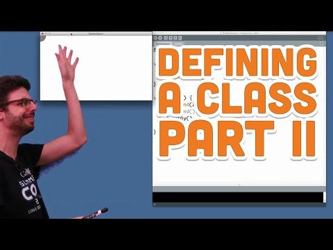 8.3: Defining a Class Part II - Processing Tutorial