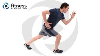 HIIT and Kickboxing Cardio Workout Plus Abs - Home HIIT Cardio and Abs Workout