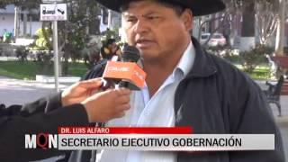 26/08 2015-20:13 GOBIERNO Y GOBERNACION DEFINEN AGENDA VIAL