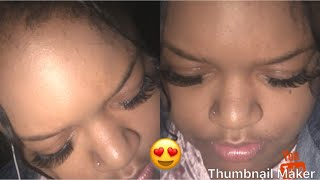Vlog   How to apply eyelashes